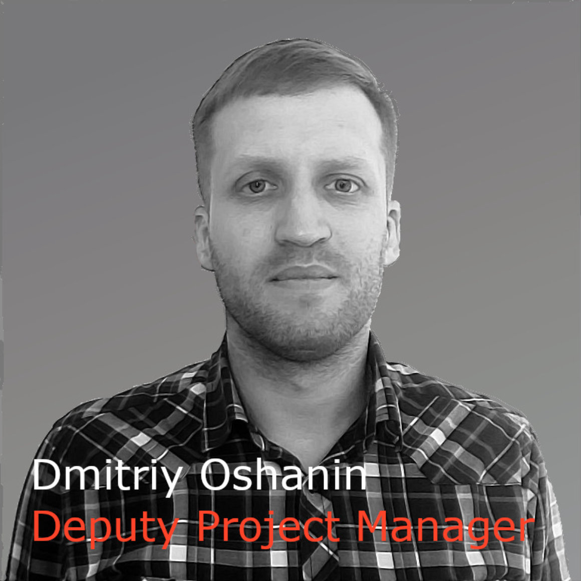 Dmitriy Oshanin Deputy Project Manager (gray)