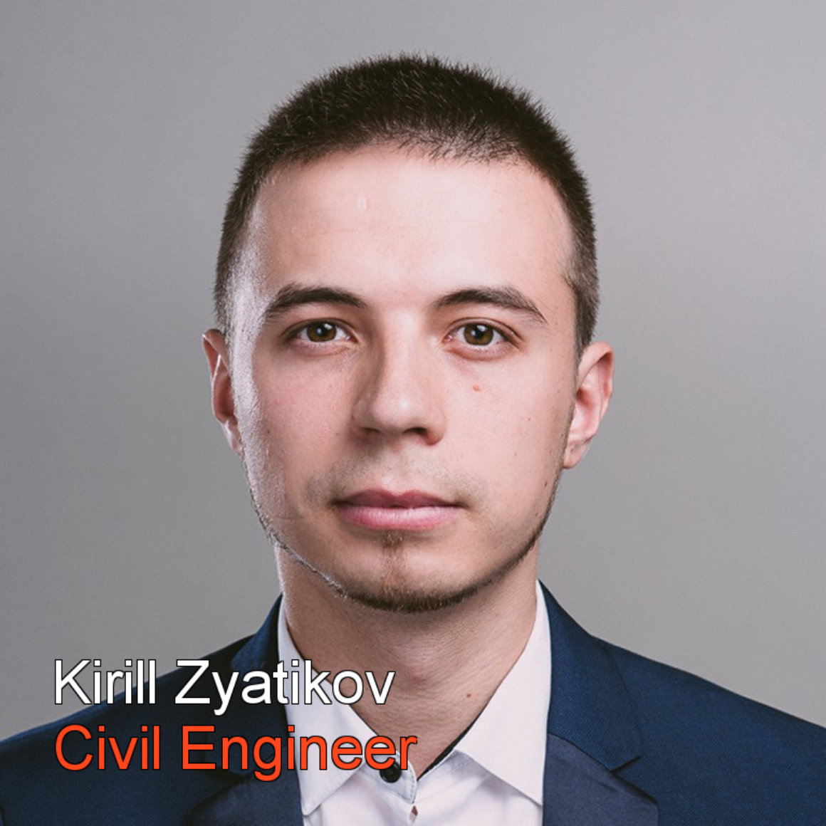 Kirill Zyatikov Civil Engeneer bw